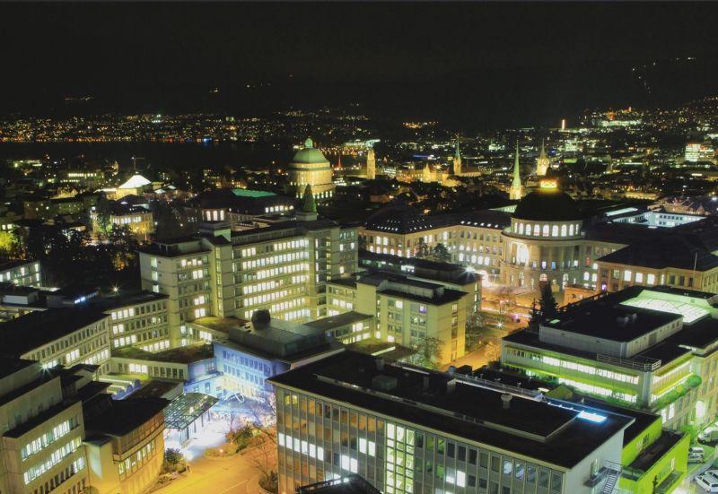 Prof. - Daniel Fink - UniversitätsSpital Zurich - vue extérieure