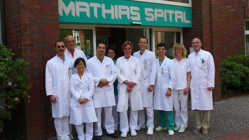 Prof. - Gerd Rudolf Lulay - Hôpital Rheine : Hôpital Mathias - équipe