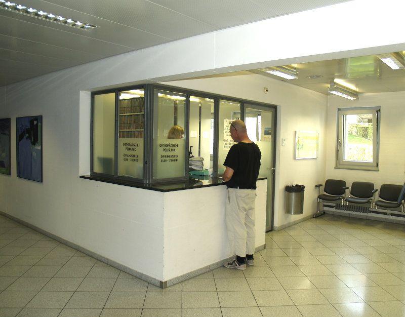 Universitätsklinik für Orthopädische Chirurgie und Traumatologie  - Inselspital, Hôpital universitaire de Berne - aire de réception