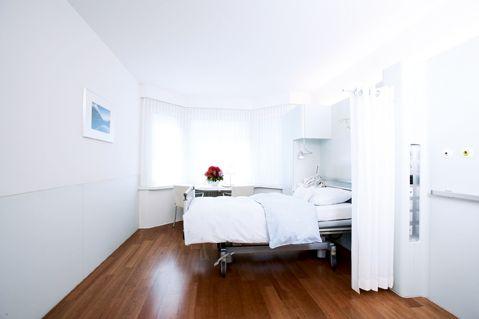 Prof. - Paul Robert Vogt - Hirslanden – Klinik im Park - chambre du patient
