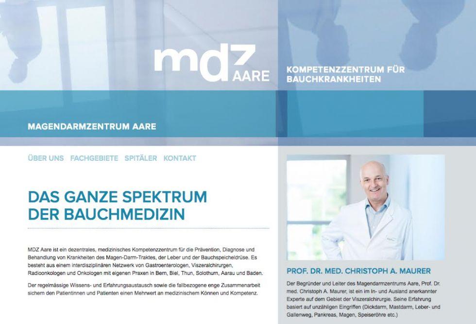 Prof. - Christoph A.  Maurer, FACS, FRCS, FEBS - Clinique Hirslanden Berne, Beausite, chirurgie viscérale