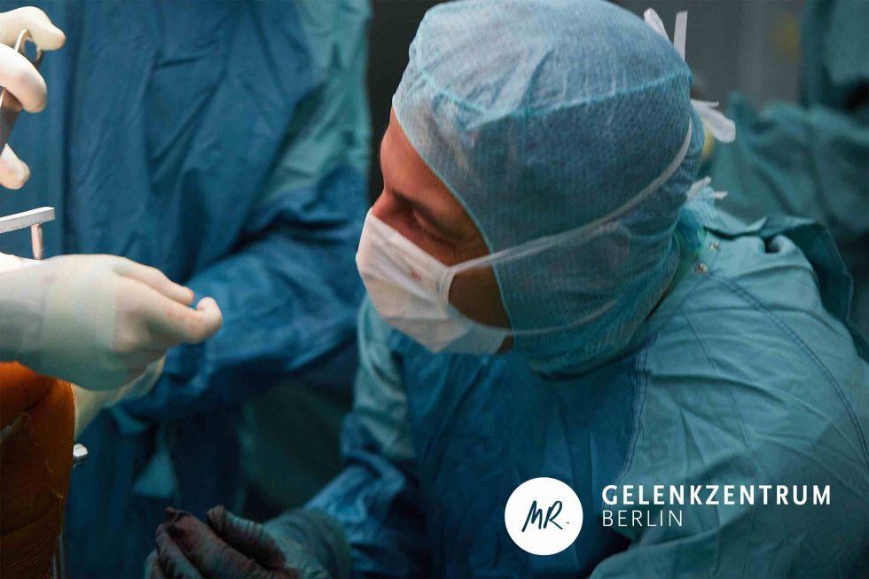 Dr. - Masyar Rahmanzadeh - Centre articulaire de Berlin, clinique Hygiea
